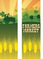 Farmers Market Double Banner