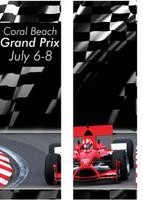 Racecar Double Banner