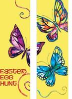 Butterflies Double Banner