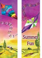 Flying Kites Double Banner