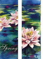 Water Lillies Double Banner