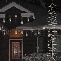 "Animated Snow Strings Set of 5 - 20"" Strings"