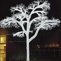 LED Acrylic Forest Tree 17' H x 12' W