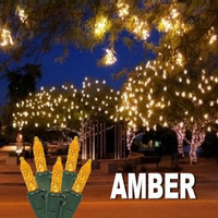 LED Cluster Lights AMBER