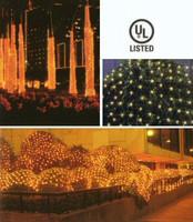 Net Lights 2'x10' Green Wire, Clear Bulbs **CASE of 12**