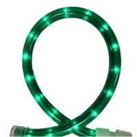 Green Rope Light 150FT, 120V 2 Wire - 1.5FT Cuttable, 5.5 watts