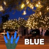 LED Cluster Lights Blue
