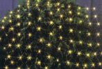 Net Lights 4'x8' Green Wire, Clear Bulbs