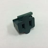 Female Slide on Plug Green SPT1- 10 Pack
