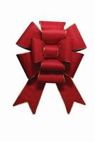 Red Multi-Loop Bow