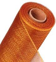 Gold/Burgundy 2-Toned Mesh Ribbon Spool