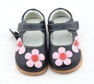 Black Mary Jane Shoe Front.
