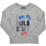 Boys Long Sleeve Shirt Grey