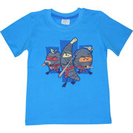 Boys Blue 'Fruit Ninjas' T Shirt.