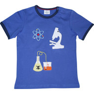 Boys Blue 'Science' T Shirt.