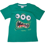 Boys Blue 'Monster' T Shirt.