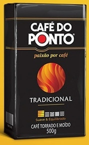 Box of Do Ponto Traditional (20 x 17.6oz) Brazilian Coffee