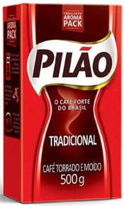 Box of Pilao (20 x 17.6oz) Brazilian Coffee