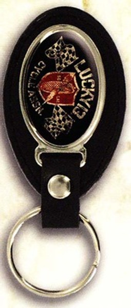 Lucky 13 Cycle Assn. Keychain