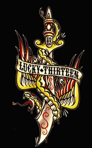 Lucky 13 Flying Dagger T-Shirt