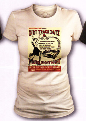 Lucky 13 Dirt Track Date Vintage T-Shirt