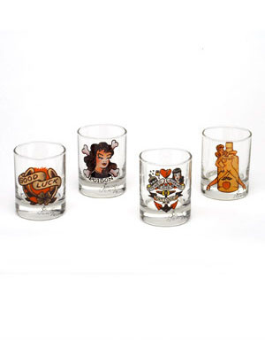 Sailor Jerry Shooter Set