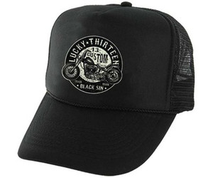 Lucky 13 Black Sin Hat
