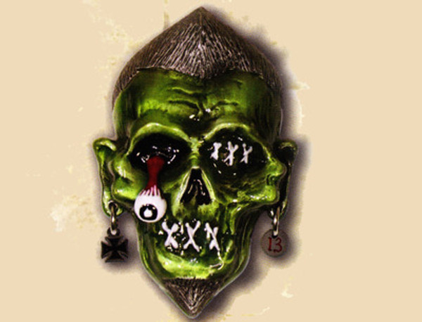Lucky 13 Zombie Joe Belt Buckle
