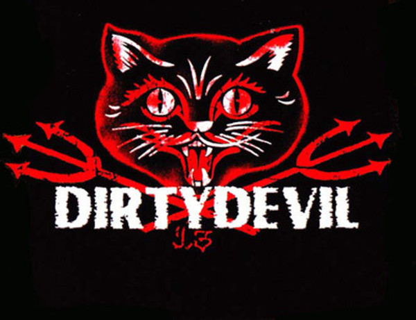 Dirty Devil Hell Kitten T-Shirt