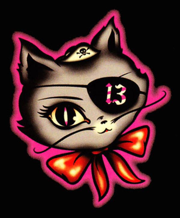 Lucky 13 P-Cat T-Shirt