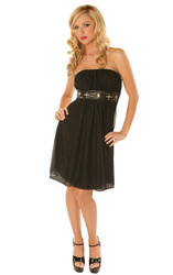 Folter Evil Empire Strapless Dress