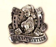 Lucky 13 Good Lord Limited Edition Belt Buckle
