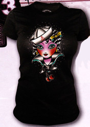 Lucky 13 Ports-A-Call Vintage T-Shirt