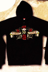 Lucky 13 Pirate Banner Hoodie