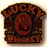 Lucky 13 Whiskey Patch