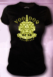 Lucky 13 Voodoo Priestess Vintage T-Shirt