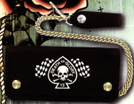 Lucky 13 Death or Glory Wallet (7 3/4 inch Version)