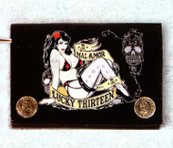 Lucky 13 Mal Amor Wallet