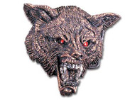 Alchemy Wolf Head Belt Buckle