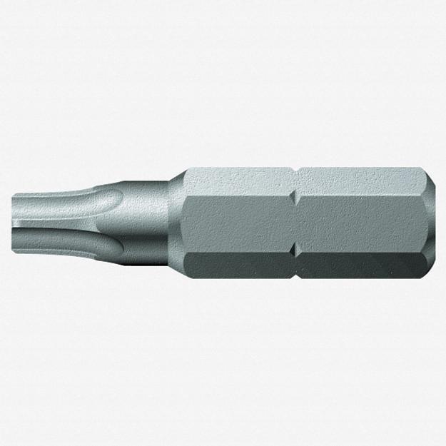 Wera 066603 #20 x 25mm Security Five Lobe Bit, Pentalobe