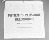 Patient Personal Belongings Bags - Deluxe