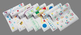 Exam Table Barrier Sheets - Watercolors