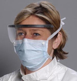 Alpha Protech Critical Cover® Combo® Surgical Masks With Shield