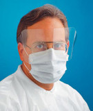 Alpha Protech Critical Cover® Shieldmate® Face Mask With Extended Shield