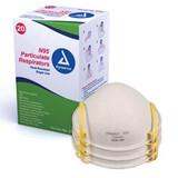 Dynarex N95 Particulate Respirator Masks