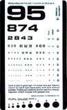 Graham Field Grafco® Pocket Size Plastic Eye Chart