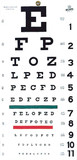 Graham Field Grafco® Snellen Type Plastic Eye Chart