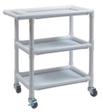 Lumex Pvc Linen Cart
