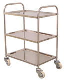 Luxor Utility Carts -  Stainless Steel