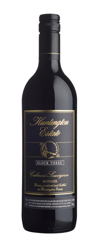 Huntington Estate 'Block 3' Cabernet Sauvignon